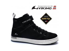 VIKING obuv 3-471000 201 Skien Black/white