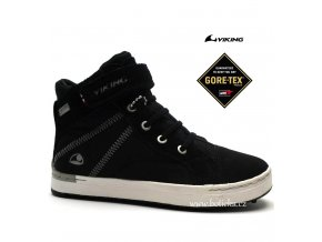 Dětské boty VIKING 3-47030 201 Sagene Black/White