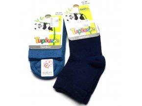 Bambusové ponožky Tuptusie tm. modré