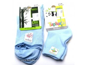 Bambusové ponožky Tuptusie sv. modré