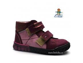 Dětské boty SÁZAVAN ESSI 2746 vínové