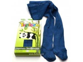 Bambusové punčocháče Tuptusie modré