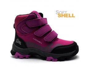 Softshell obuv EFFE TRE SW14061 růžové
