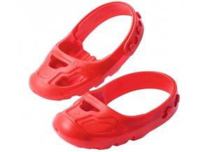 BIG SHOE chrániče na boty červené