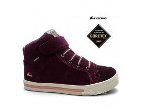 VIKING obuv 3-83070 gore-tex Falcon růžové