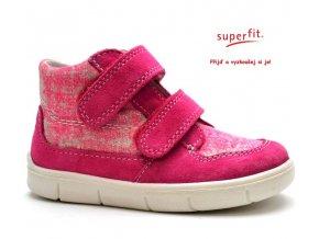 Dětské boty SUPERFIT 2-00429-64 pink kombi