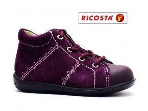 Dětské boty RICOSTA Preppy 18266-346 merlot