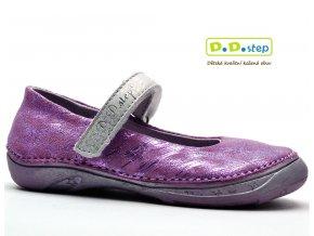 Dívčí baleríny DDstep 046-602B fialková