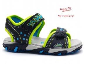 Sandále SUPERFIT 2-00173-81 ocean kombi