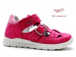 Sandále SUPERFIT 2-00430-64 pink kombi