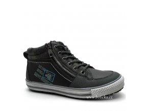 HAPPY STREET obuv 46-0720 šedé