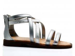 Sandále SPROX 389190 stříbrné