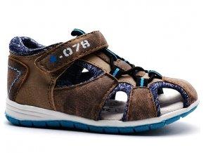 Sandále SPROX 389032 hnědé
