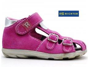 Sandále RICHTER  2102 341 318 3111 růžové