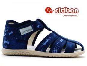 Bačkory CICIBAN 28444 RINGO sandálové