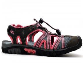 Sandále SCANDI 55-0029-Z1 růžovošedé