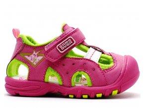 Dětské sandále MAGNUS 45-0298 růžové