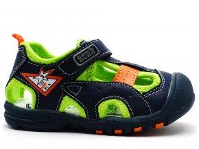 Dětské sandále MAGNUS 45-0298 modré