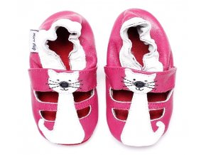 Kožené capáčky HOPI HOP sandálky Kočička