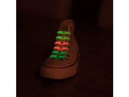 SHOEPS Glow in the dark svítící tkaničky