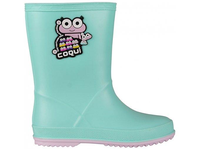 coqui 8505 rainy mint candy pink