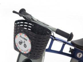 Košík na řídítka černý