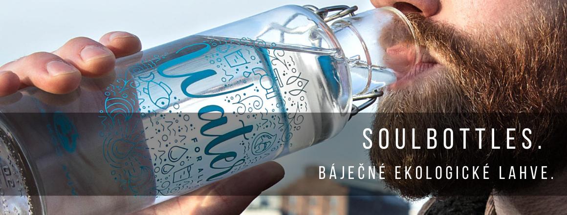 Soulbottles. Báječné ekologické lahve.