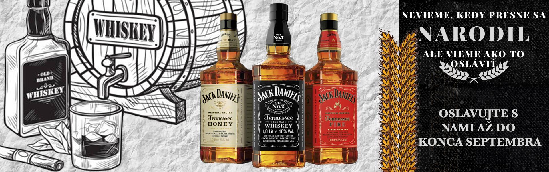 Akcia Jack Daniel's