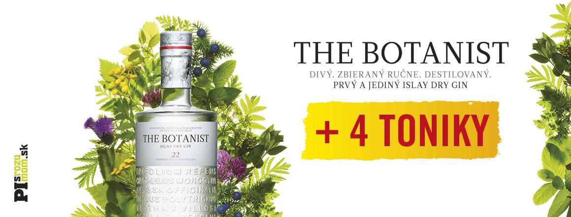 Botanist islay dry gin + 4x sanpellegrino tonic