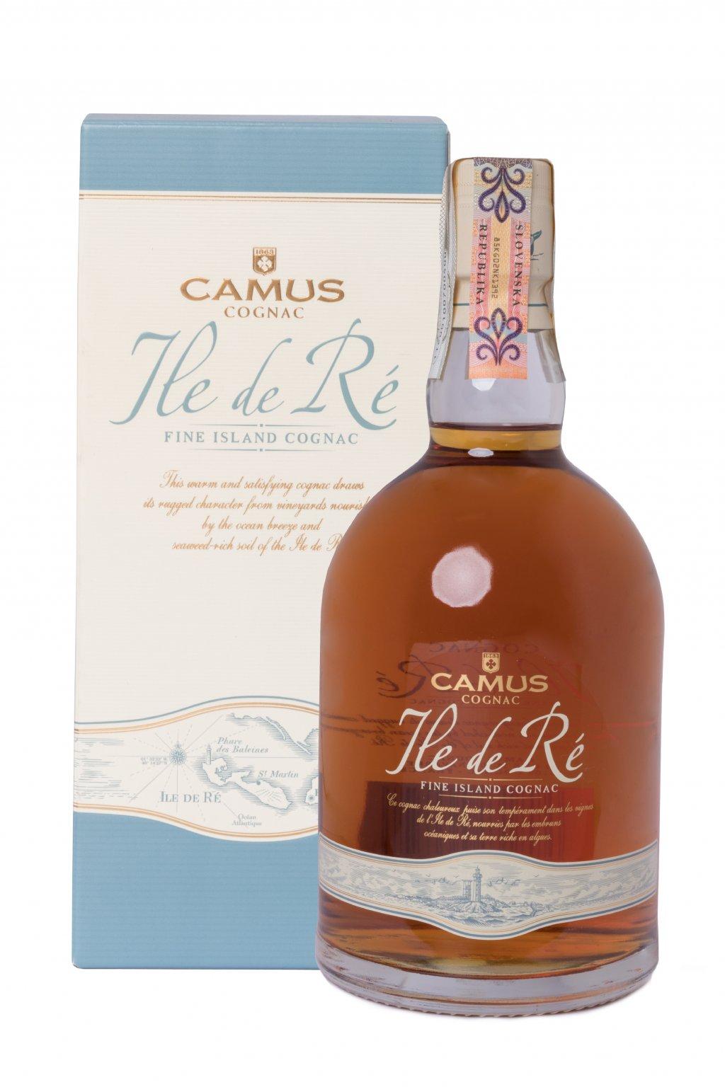 CAMUS ILE DE RE FINE ISLAND 0.70L 40%  + K produktu darček grátis