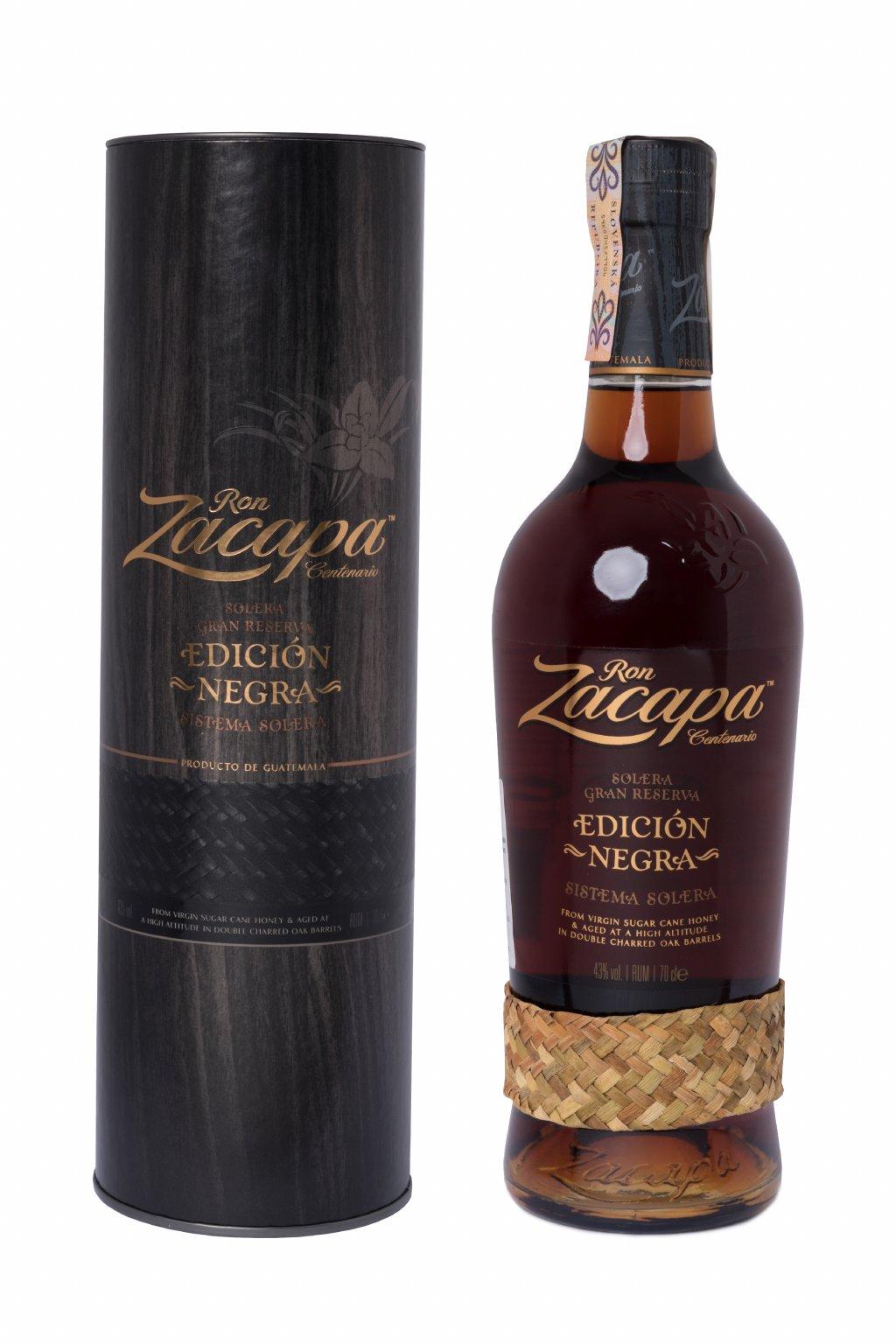 ZACAPA EDICION NEGRA 0.70L 43%