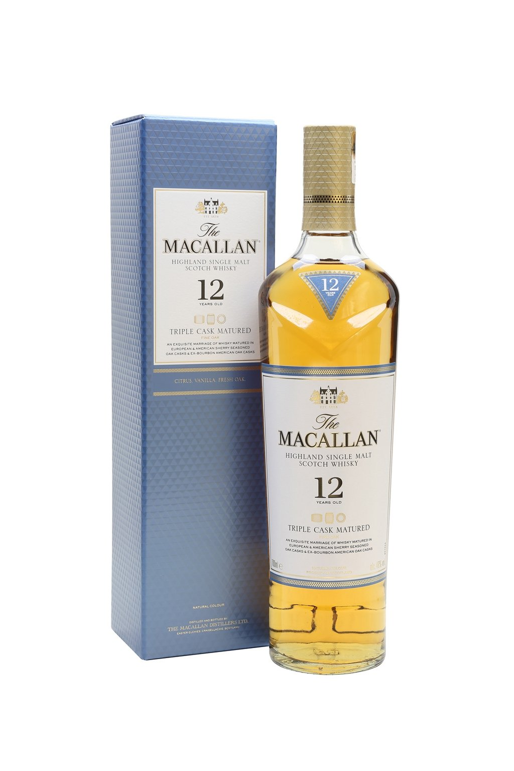 macallan 12 triple cask