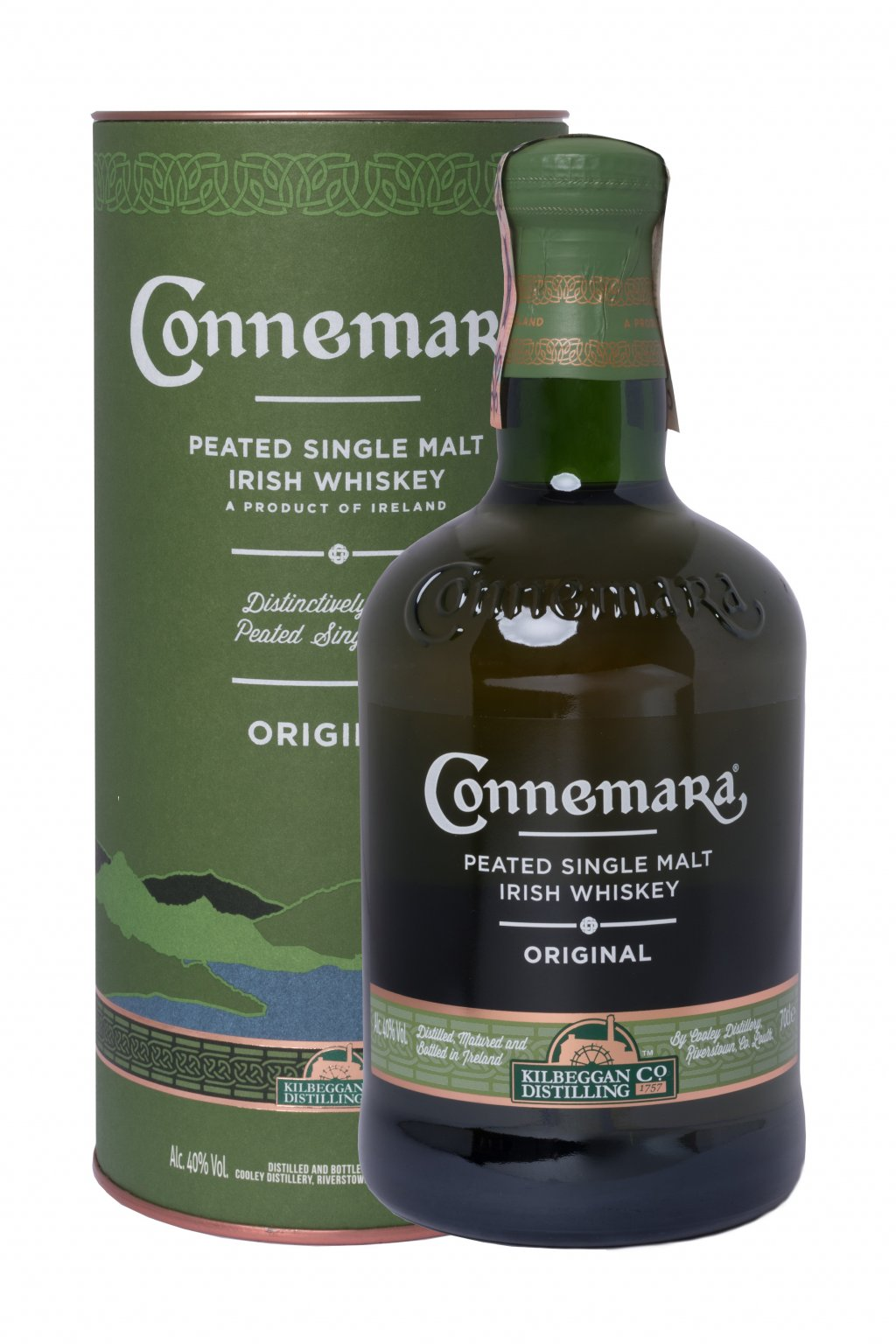 CONNEMARA SINGLE MALT PEATED 0.70L 40%  + K produktu darček grátis