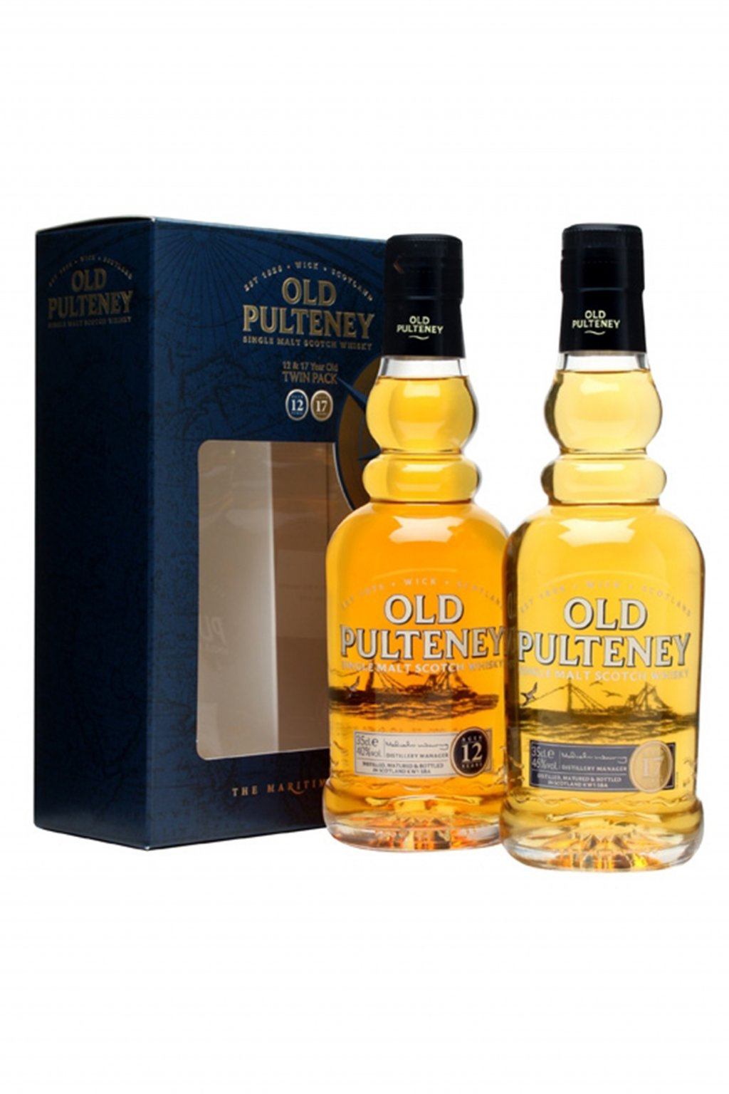 Old Pulteney 12+17yo