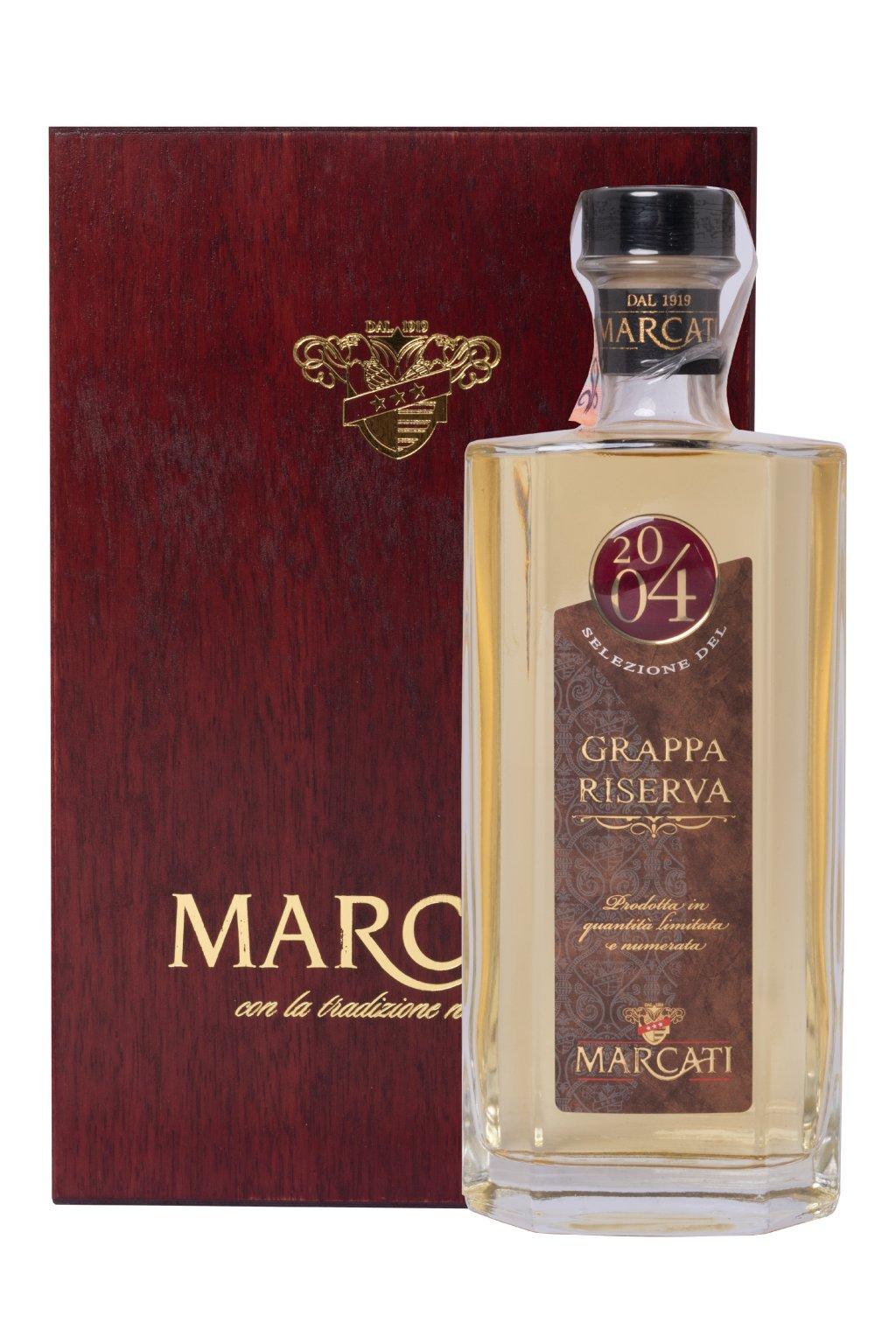 GRAPPA MARCATI RISERVA 2004 0.50L 40%