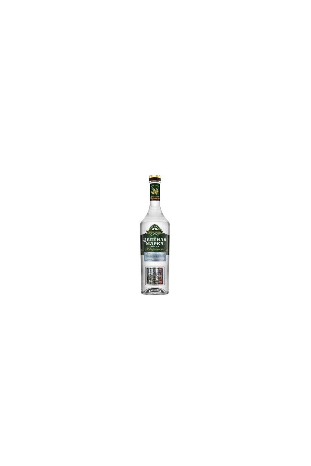 29877 vodka zelyonaya marka kedrovaya