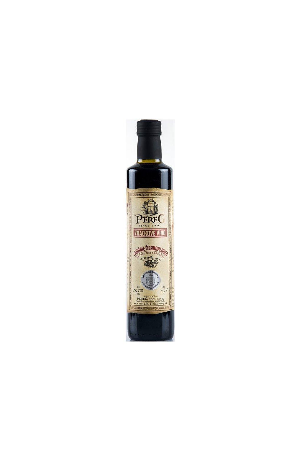 vino pereg aronie ciernoplodej 0 5l zoom 1713