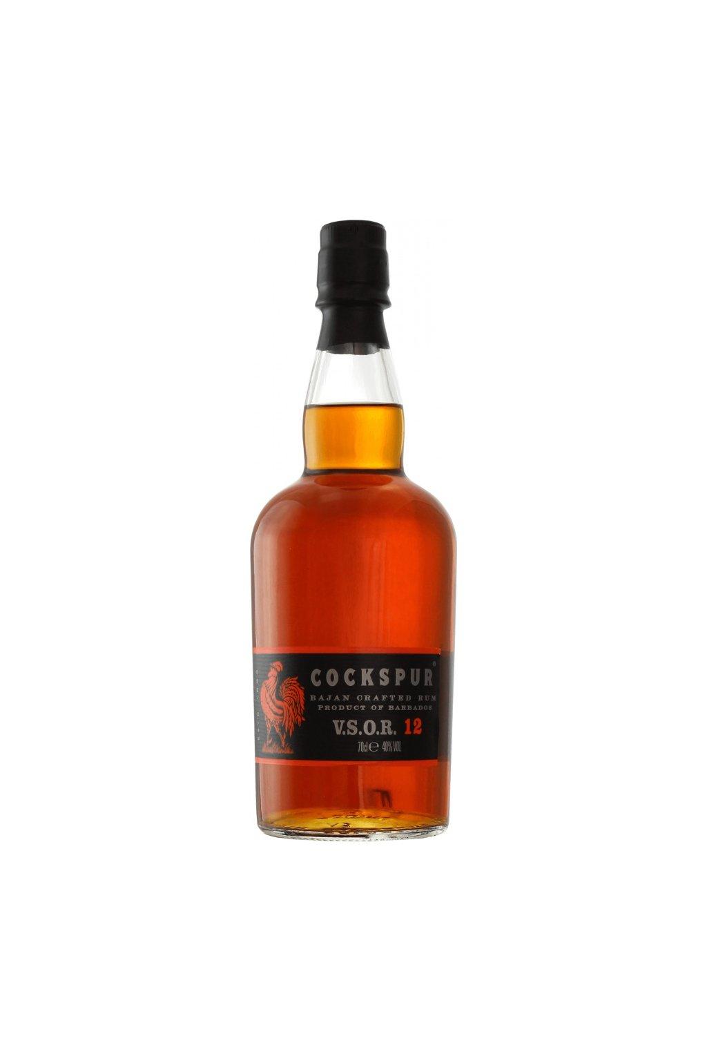 rum cockspur vsor 12 ans