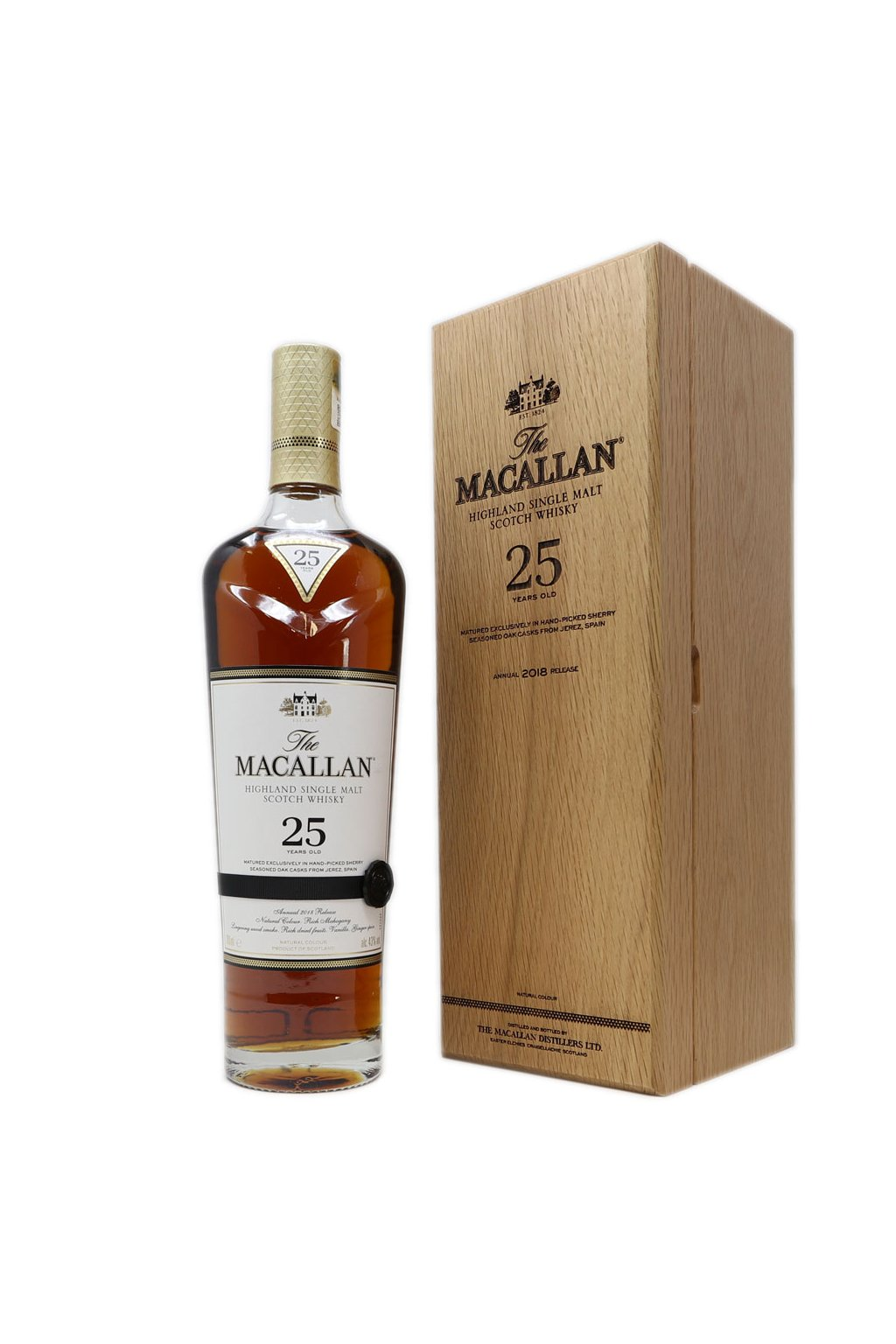 macallan 25 sherry oak