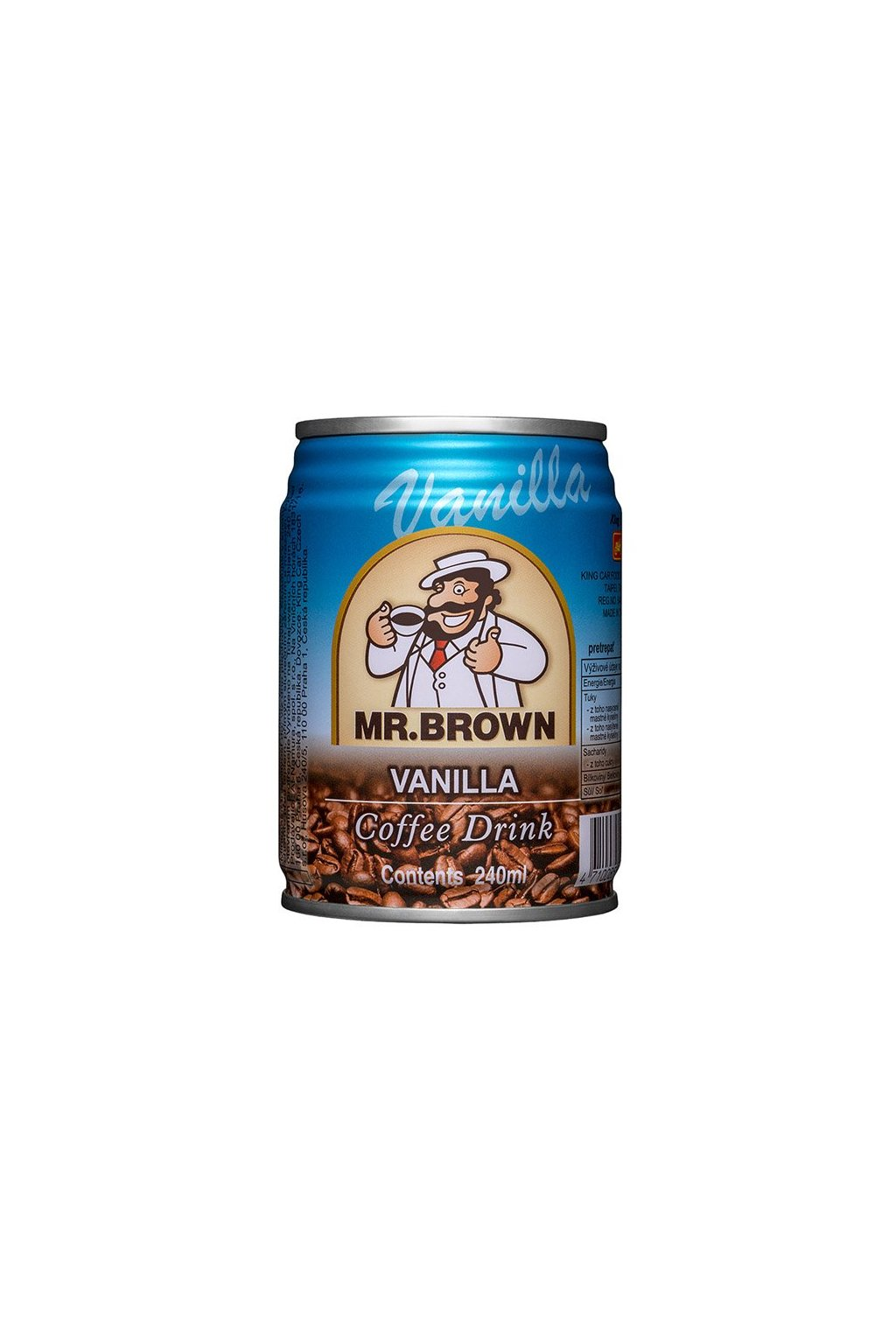 mr brown vanilla