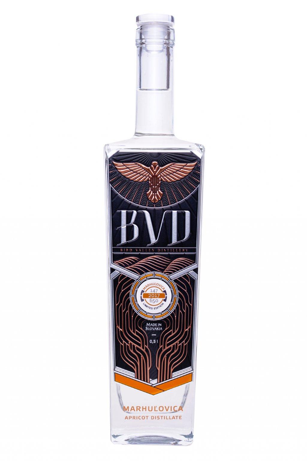 BVD Marhulovica destilat 0,5l