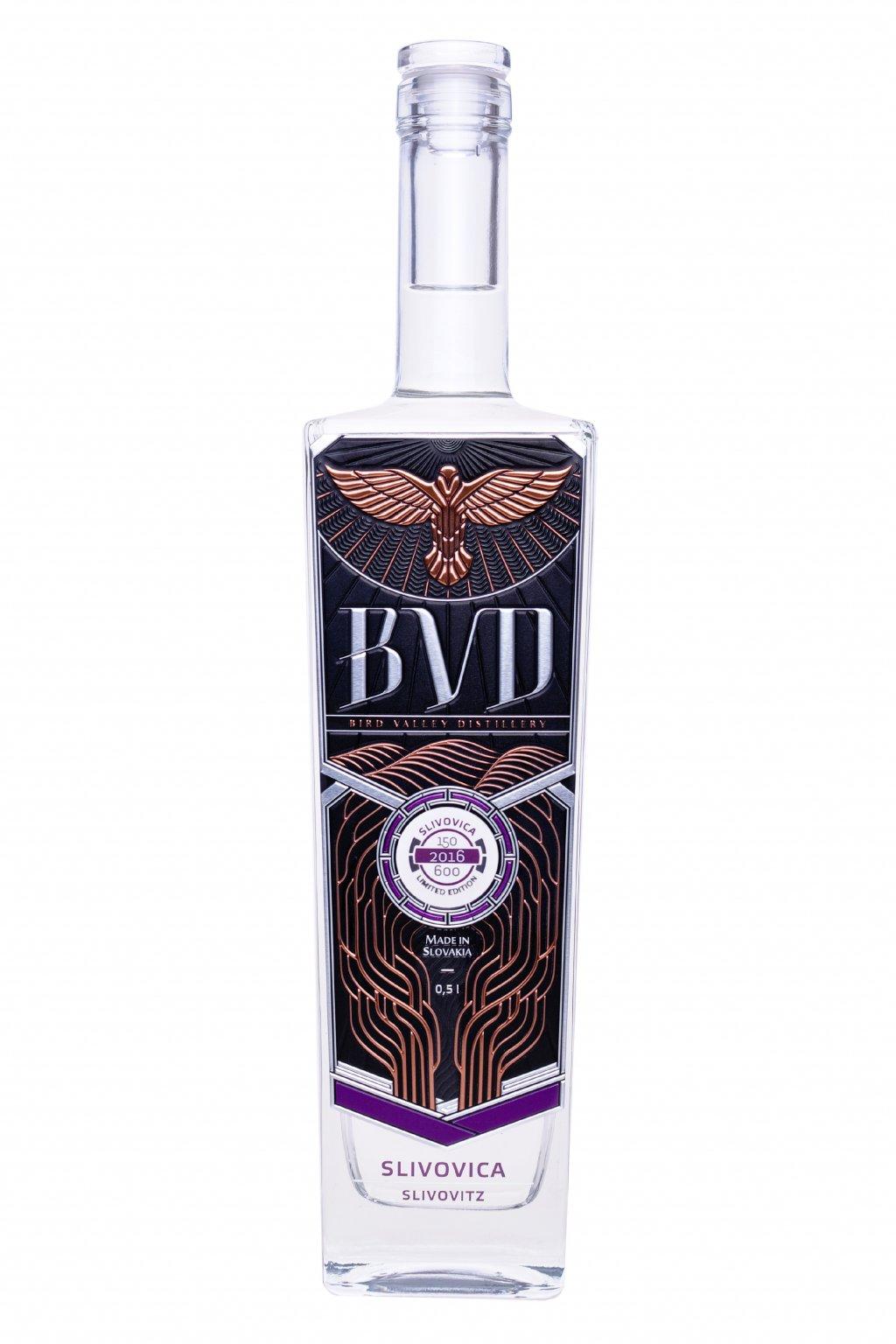 BVD Slivovica destilat 0,5l