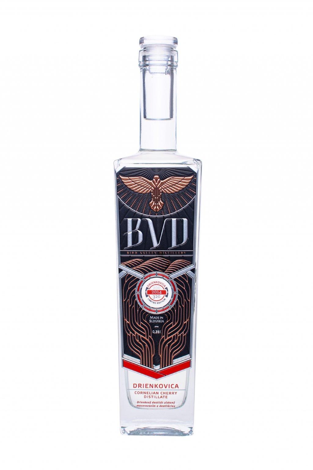 BVD Drienkovica destilat 0,35l