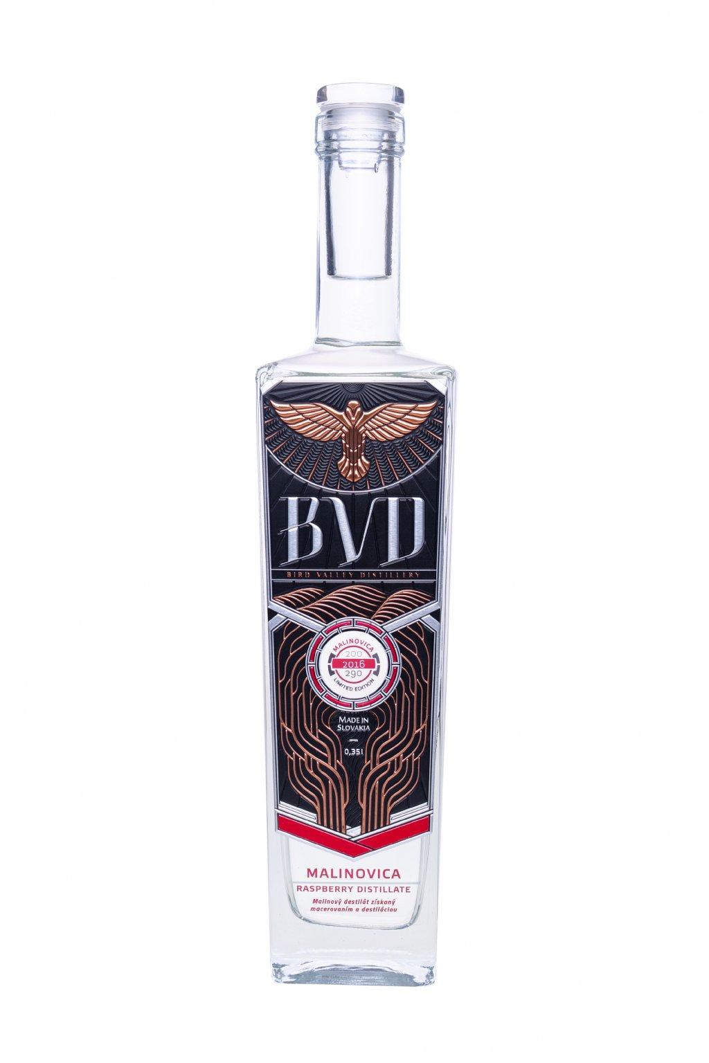 BVD Malinovica destilat 0,35l