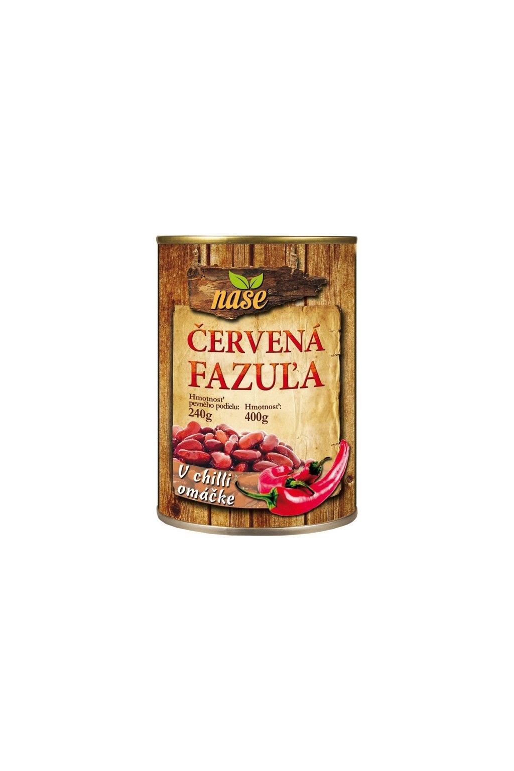 nase cervena fazula chilli