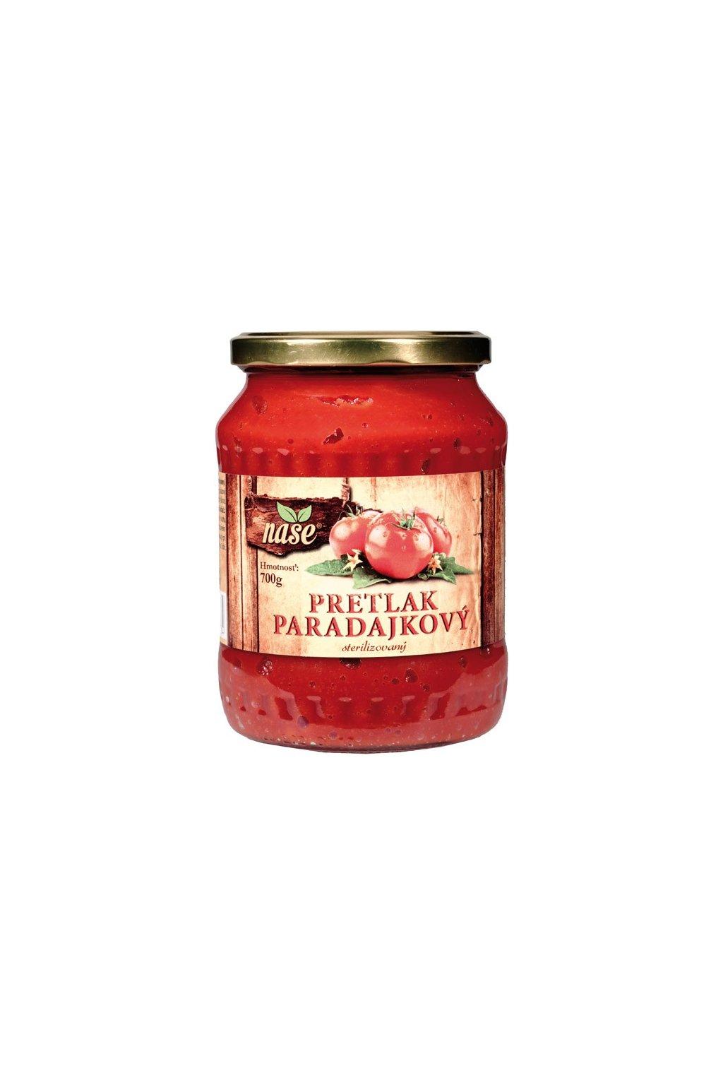 nase paradajkovy pretlak