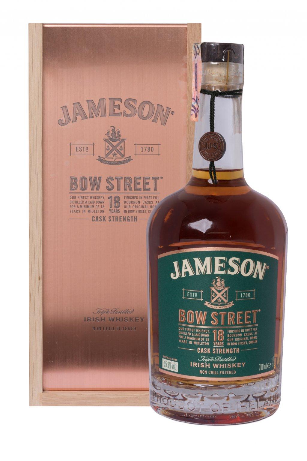 JAMESON BOW STREET 18 YO 0.70L 55.3%