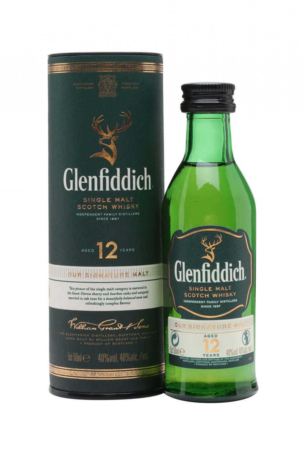 Glenfiddich 12yo mini