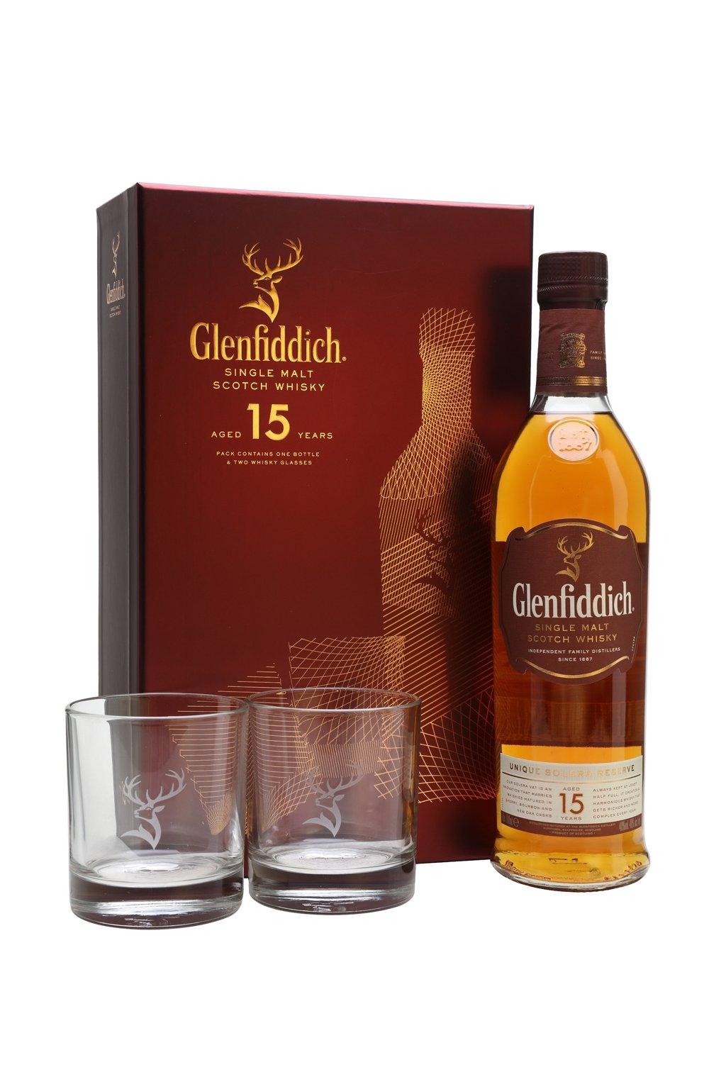 glenfiddich 15 poh