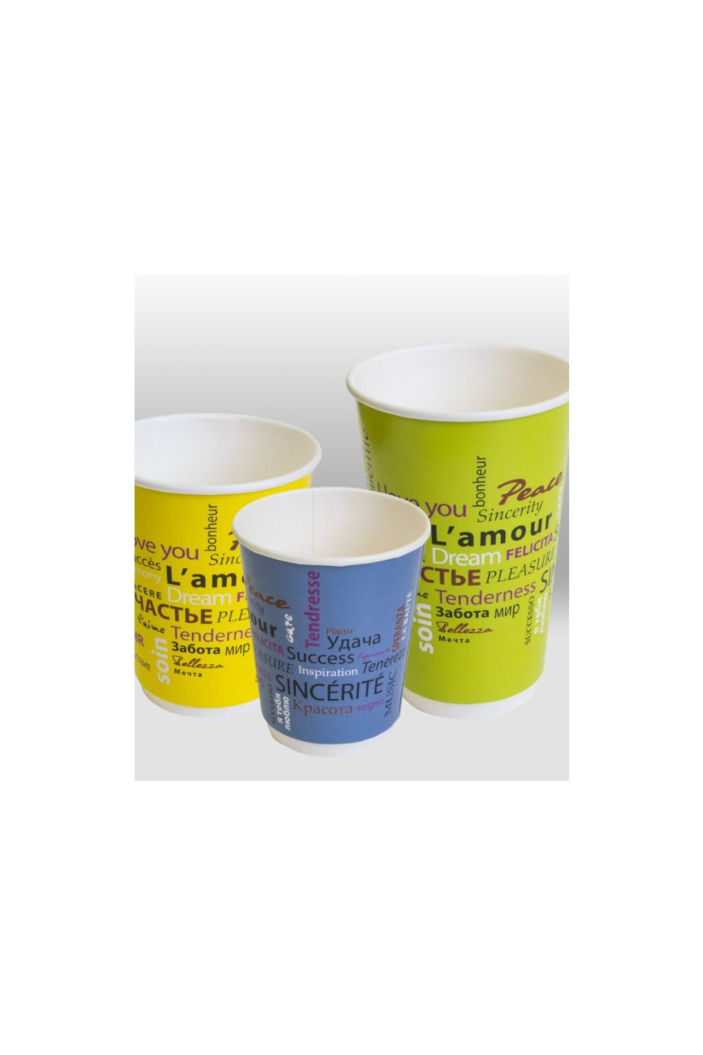 fiesta double wall paper cup